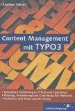 Content Management mit TYPO3, m. CD-ROM