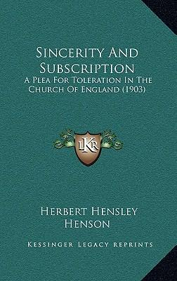 Sincerity and Subscription