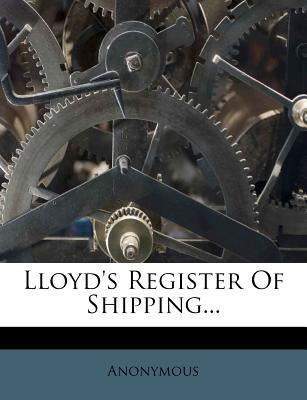 Lloyd's Register of Shipping...