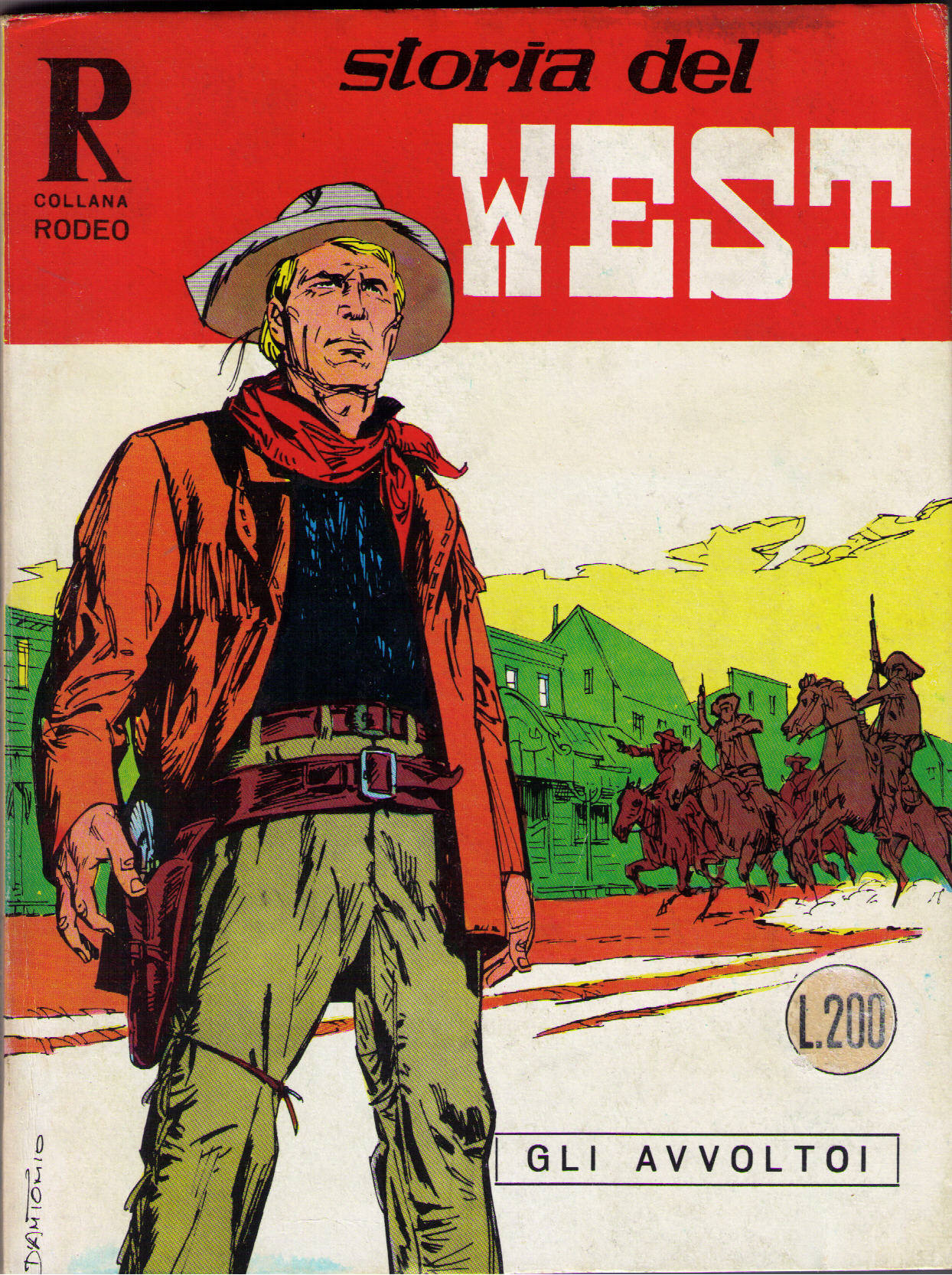 Storia del West n.27 (Collana Rodeo n.60)