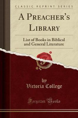 A Preacher's Library