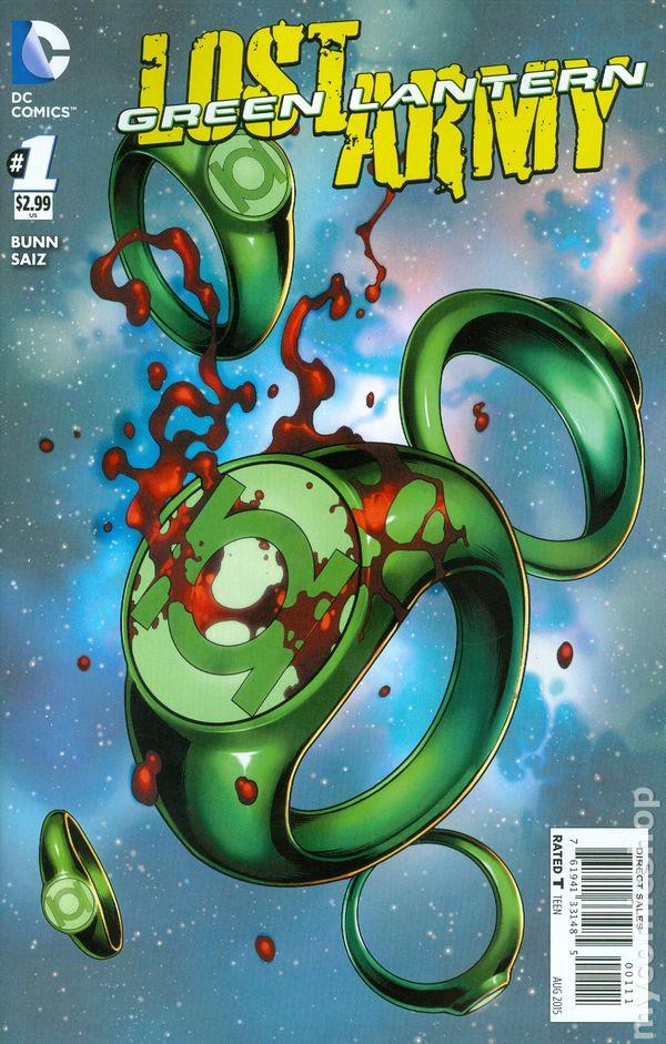 Green Lantern: Lost Army Vol.1 #1