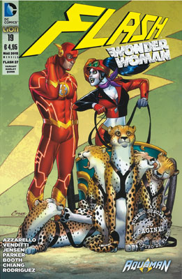 Flash n. 37 - Variant Harley Quinn