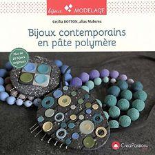 Bijoux contemporains en pâte polymère