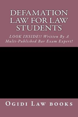 Defamation Law for Law Students