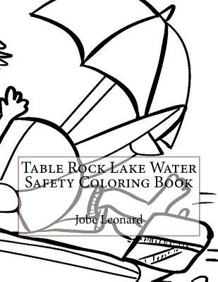 Table Rock Lake Water Safety Coloring Book
