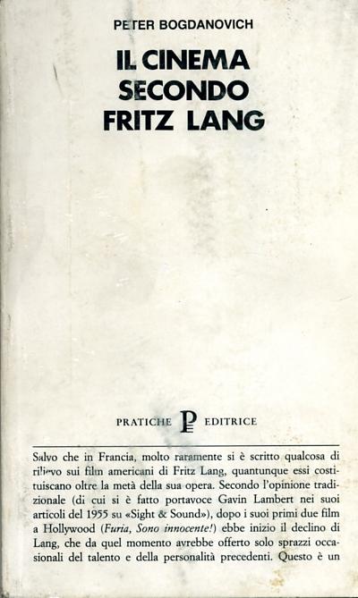 Il cinema secondo Fritz Lang