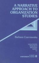 A Narrative Approach to Organization Studies