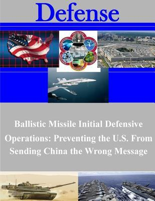 Ballistic Missile Initial Defensive Operations