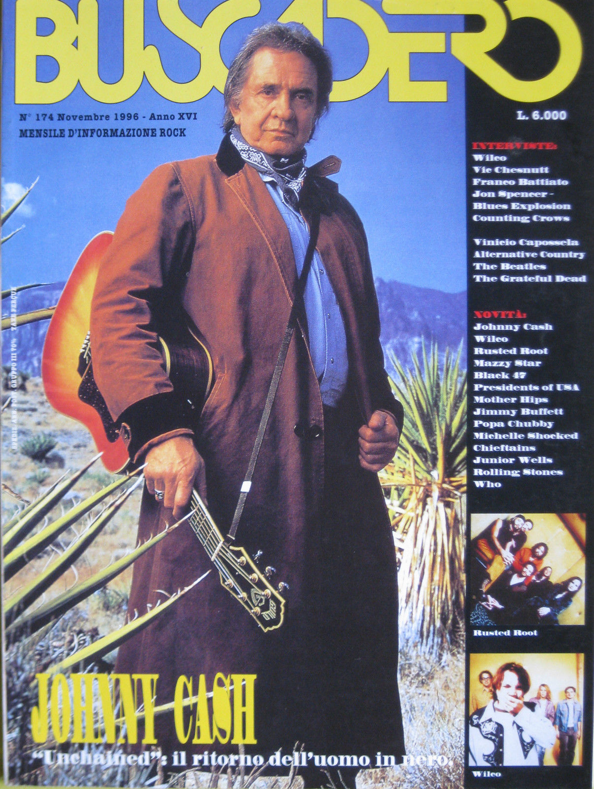 Buscadero n. 174 (novembre 1996)