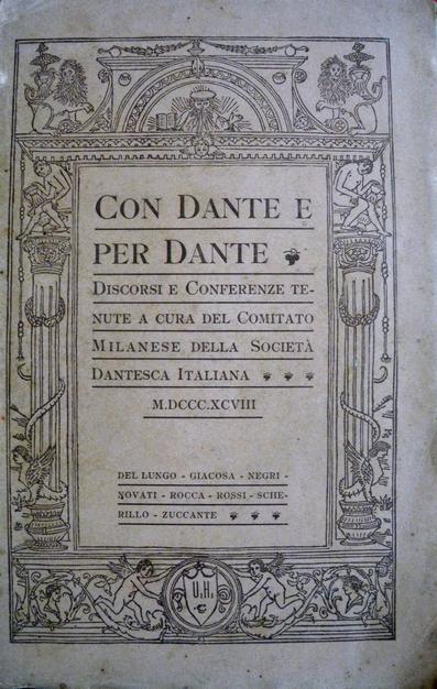 Con Dante e per Dante