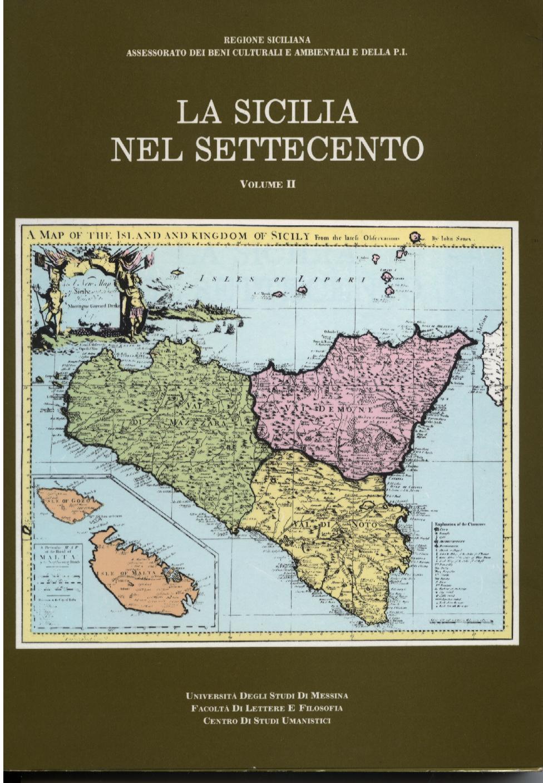 La Sicilia nel Settecento - Vol. II