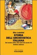 Storia dell'archivistica italiana