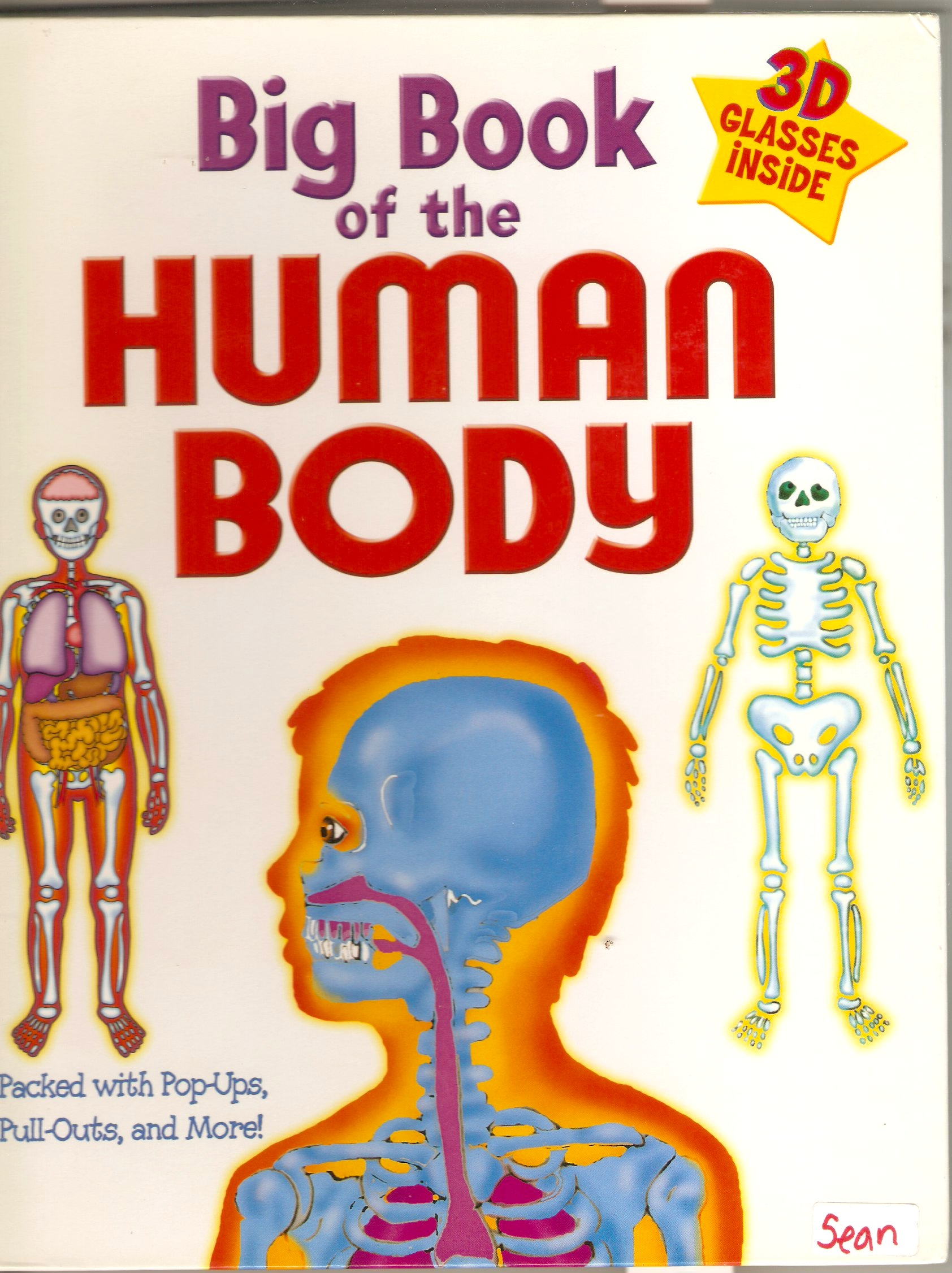 MY FIRST BIG BOOK OF THE HUMAN BODY