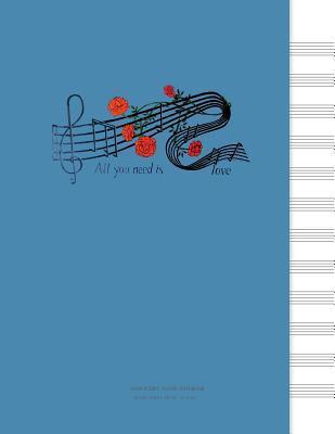Manuscript Paper Notebook
