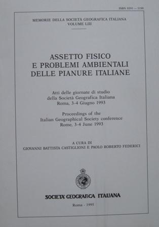 Assetto fisico e problemi ambientali delle pianure italiane