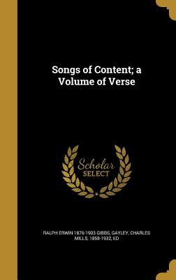 SONGS OF CONTENT A VOLUME OF V