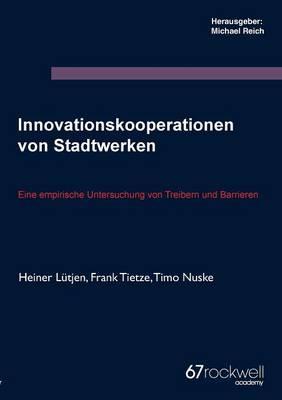 Innovationskooperationen von Stadtwerken