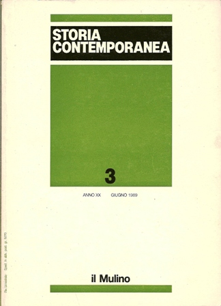 Storia contemporanea n. 3/1989