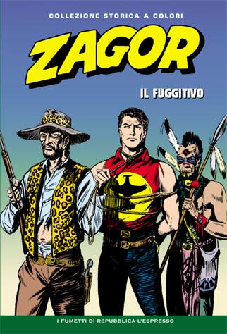 Zagor collezione storica a colori n. 14