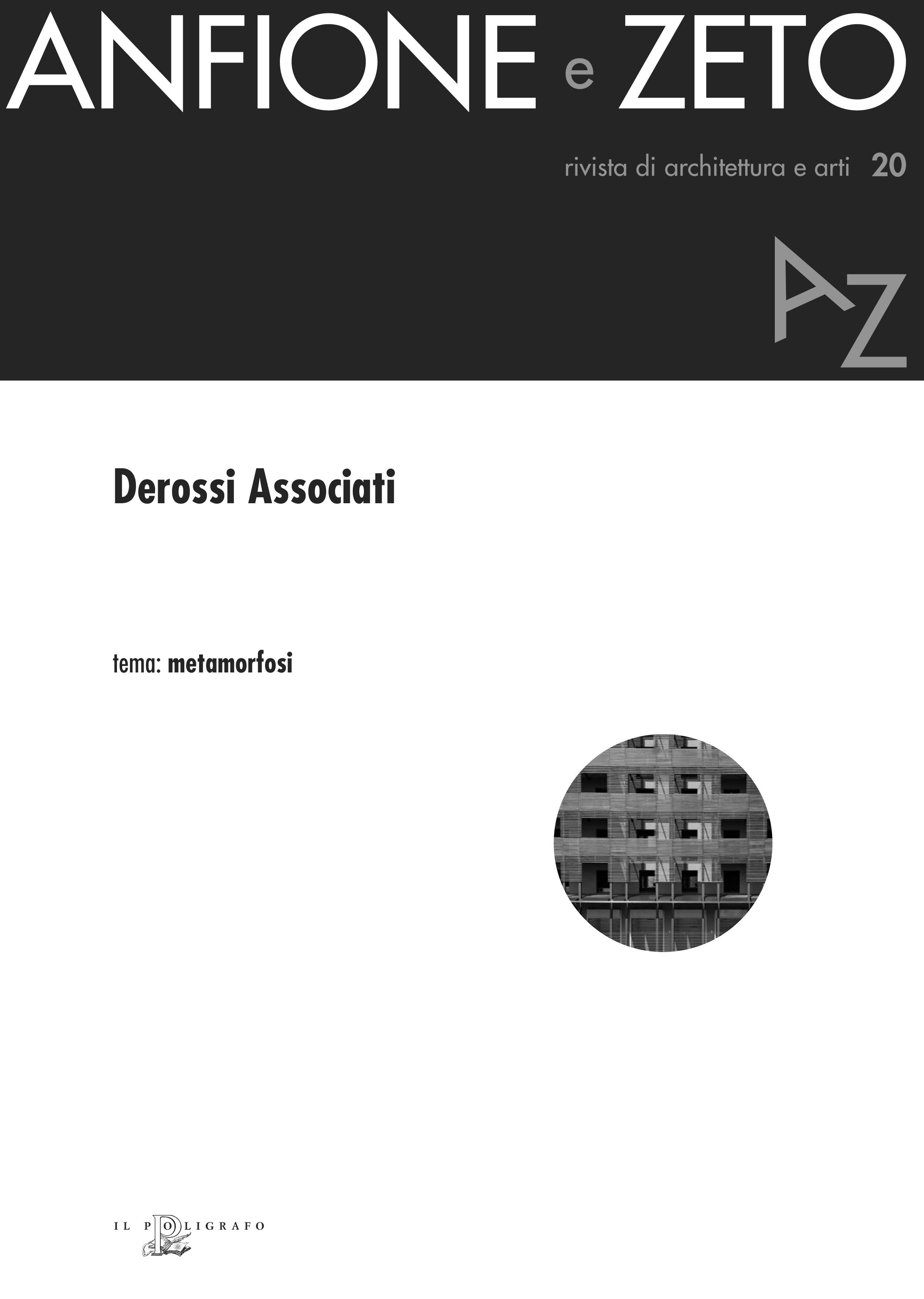 Anfione e Zeto. Rivista di architettura e arti, n. 20