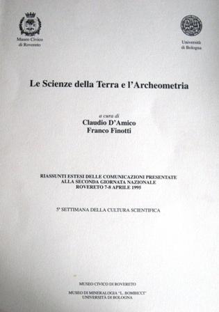 Le scienze della terra e l'archeometria