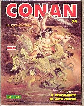 Conan la spada selvaggia n. 54