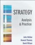 Strategy Analysis and Practice: Text Only