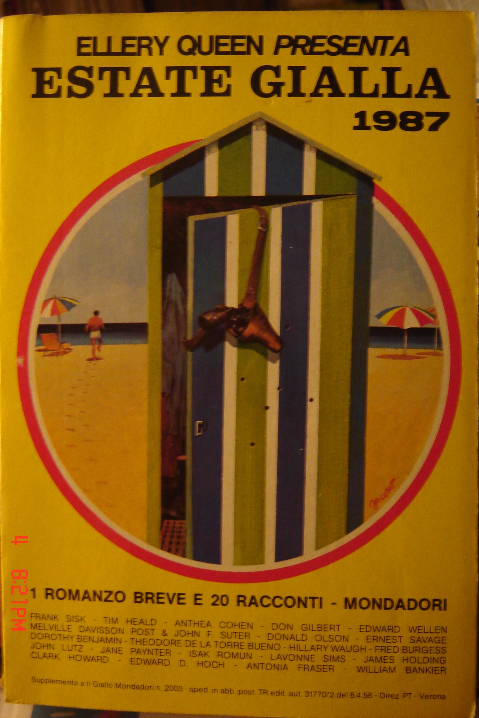 Ellery Queen presenta Estate gialla 1987