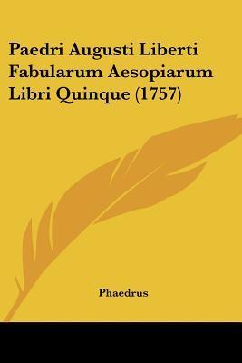 Paedri Augusti Liber...