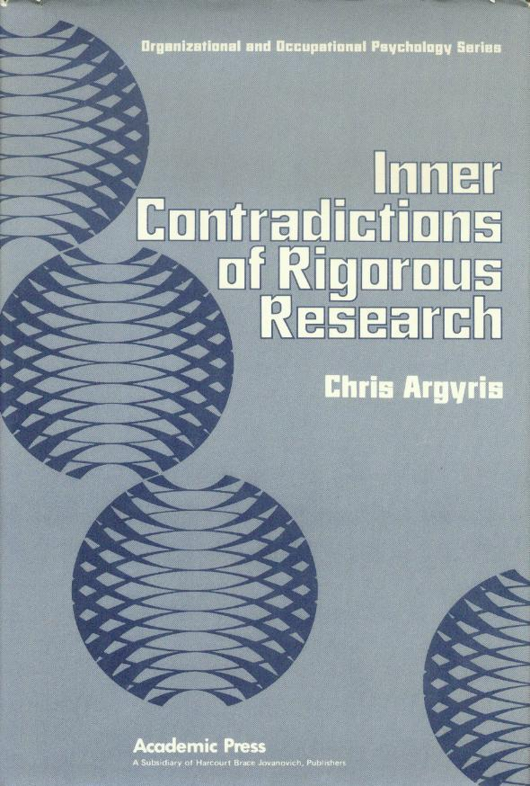Inner Contradictions of Rigorous Research