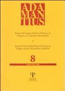 Adamantius. Notiziario del Gruppo italiano di ricerca su «Origene e la tradizione alessandrina». Vol. 8