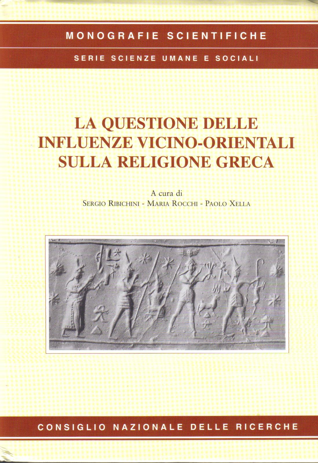 La questione delle influenze vicino-orientali sulla religione greca