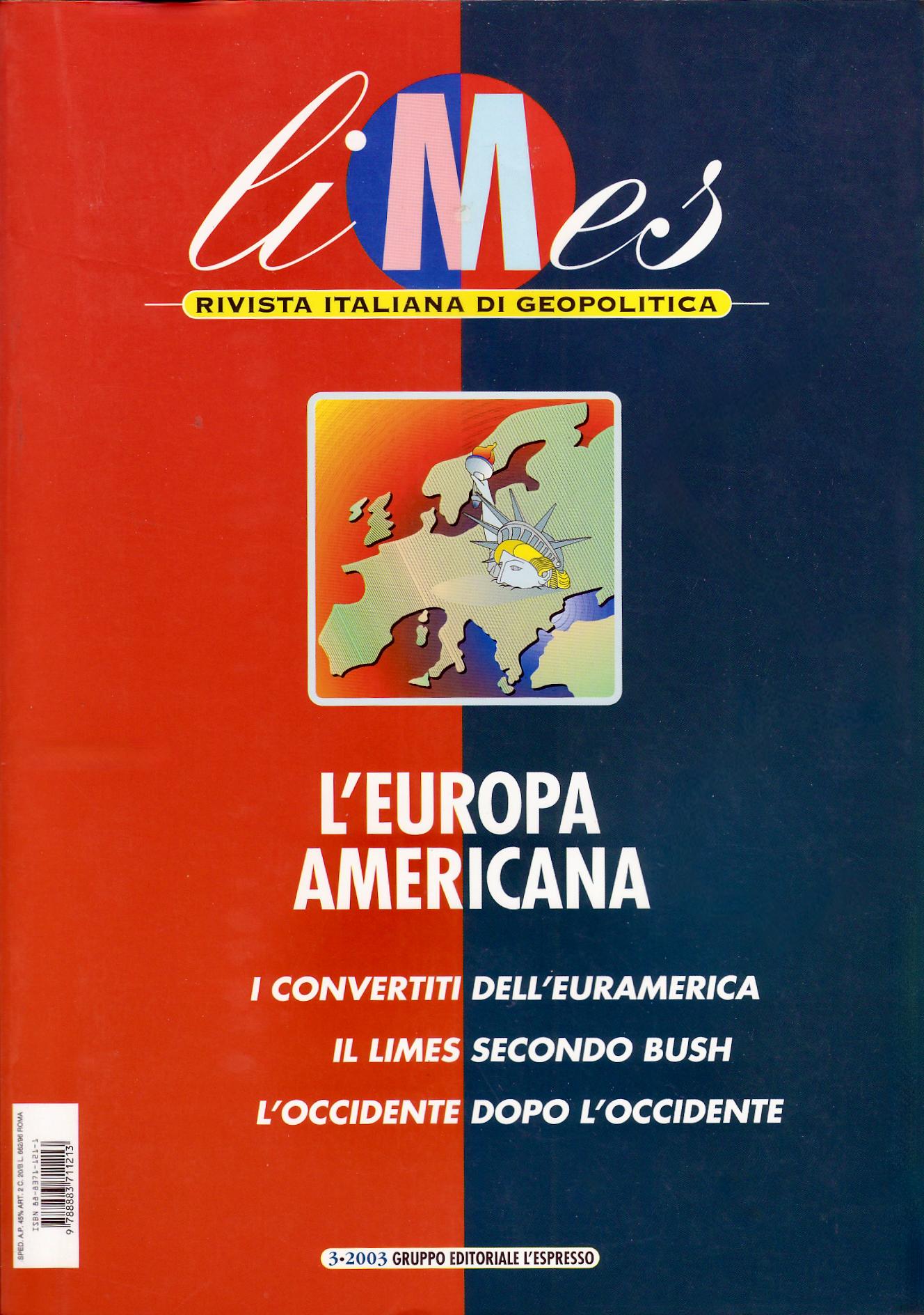 Limes - Rivista italiana di geopolitica - n.3/2003