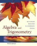 Algebra and Trigonometry: Graphing Calculator Manual Package