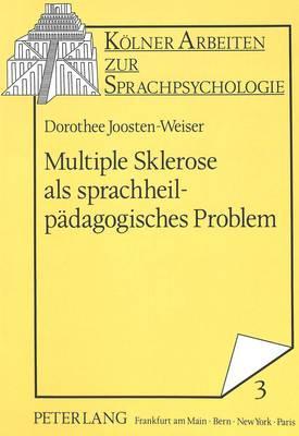 Multiple Sklerose als sprachheilpädagogisches Problem