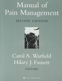Manual of pain management