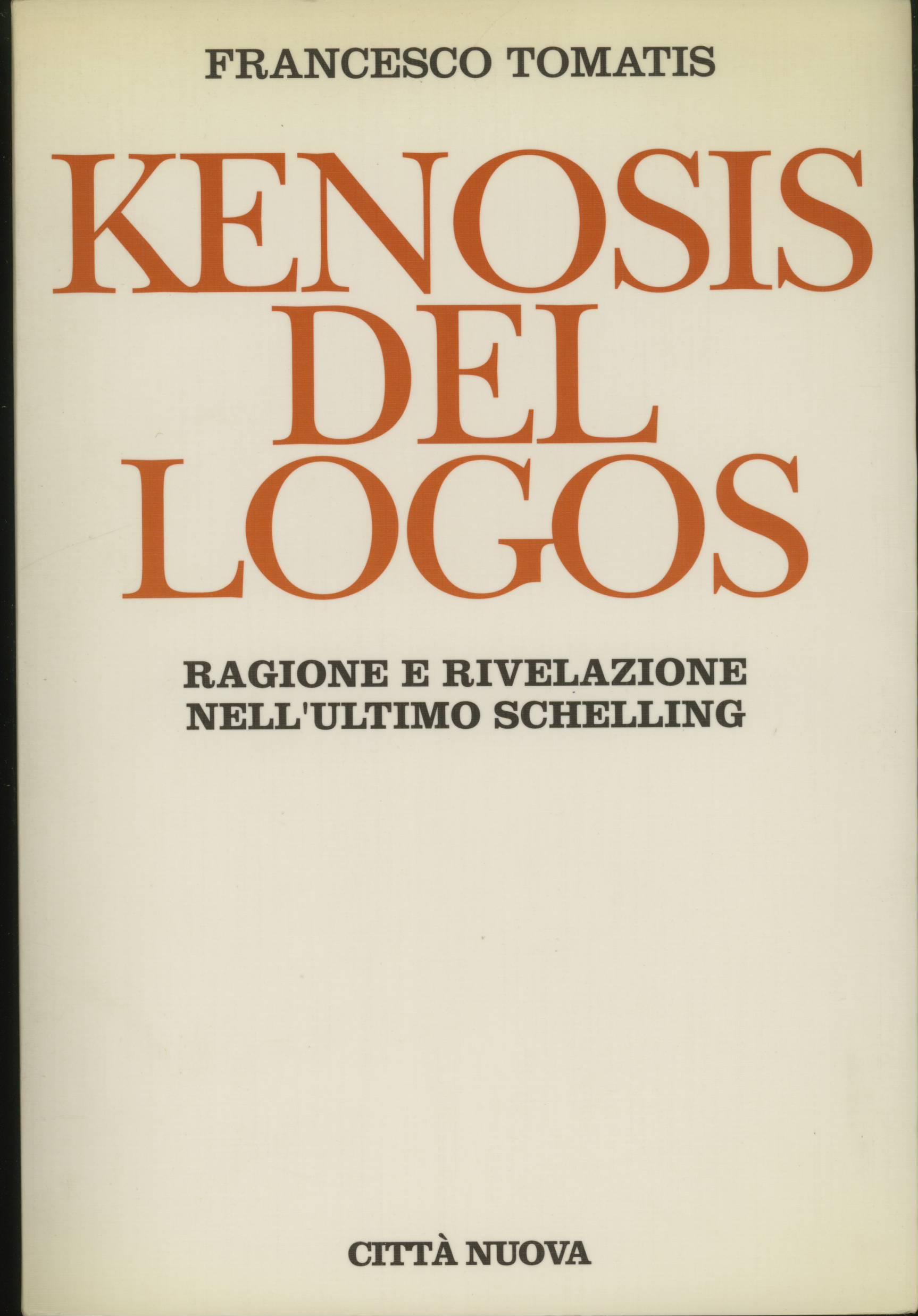 Kenosis del logos