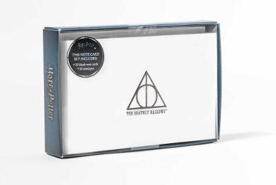 Harry Potter - Deathly Hallows Embossed Foil Note Cards