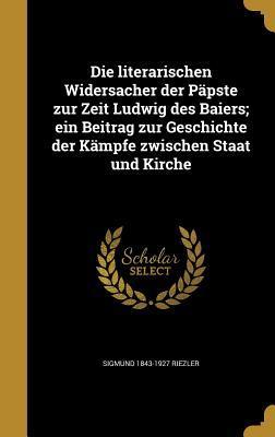 GER-LITERARISCHEN WIDERSACHER