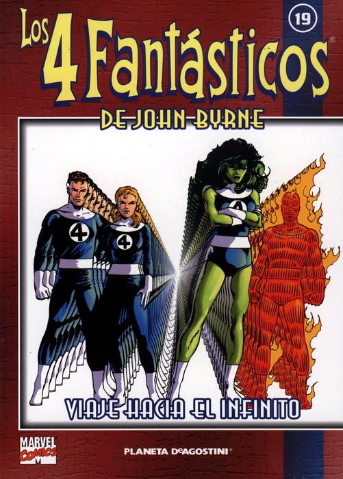 Coleccionable Los 4 Fantásticos de John Byrne #19 (de 25)
