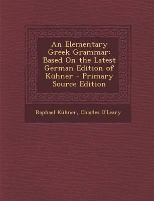 An Elementary Greek ...