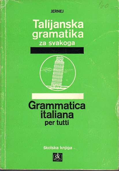 Talijanska gramatika...