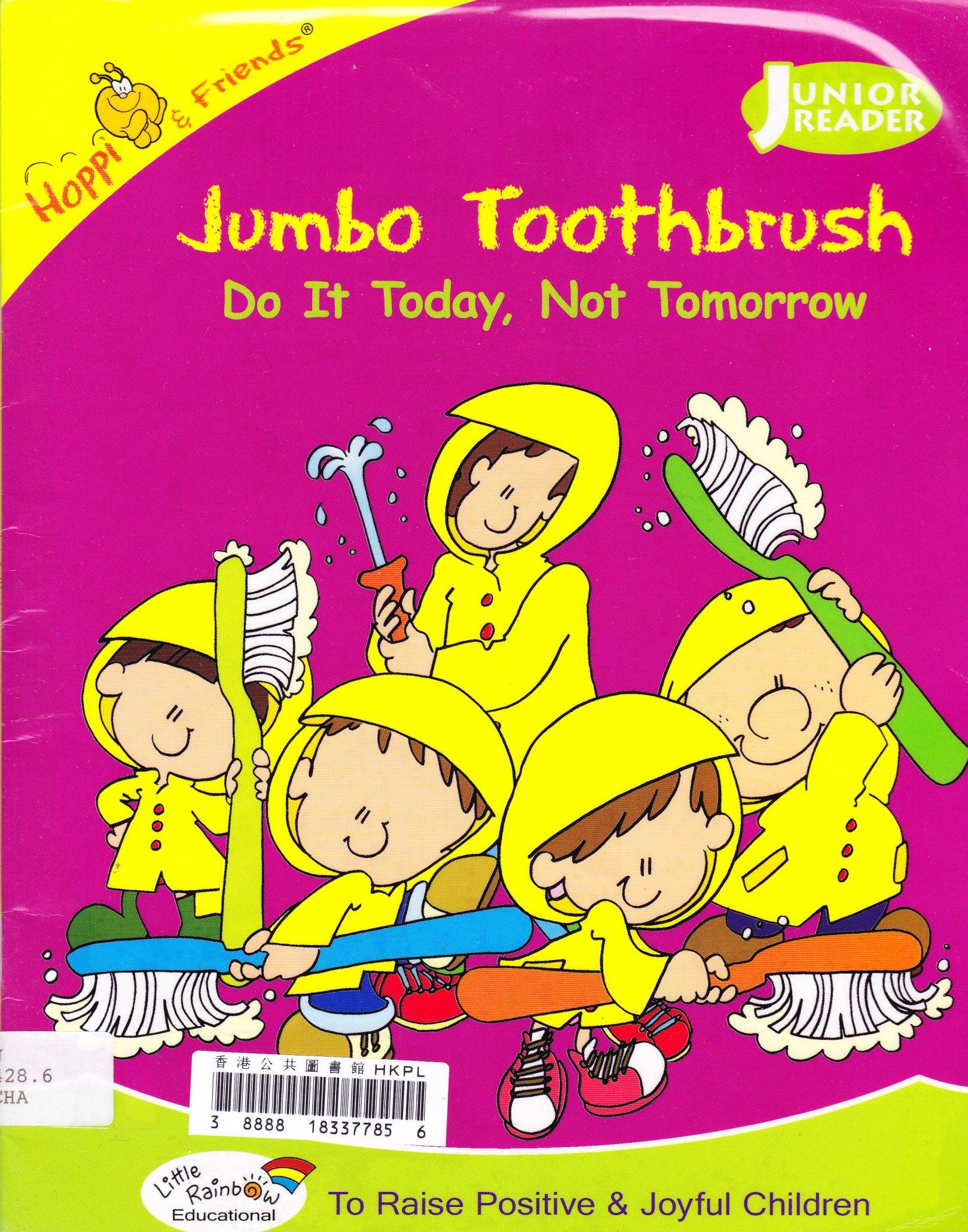 Hoppi & Friends - Jumbo Toothbrush