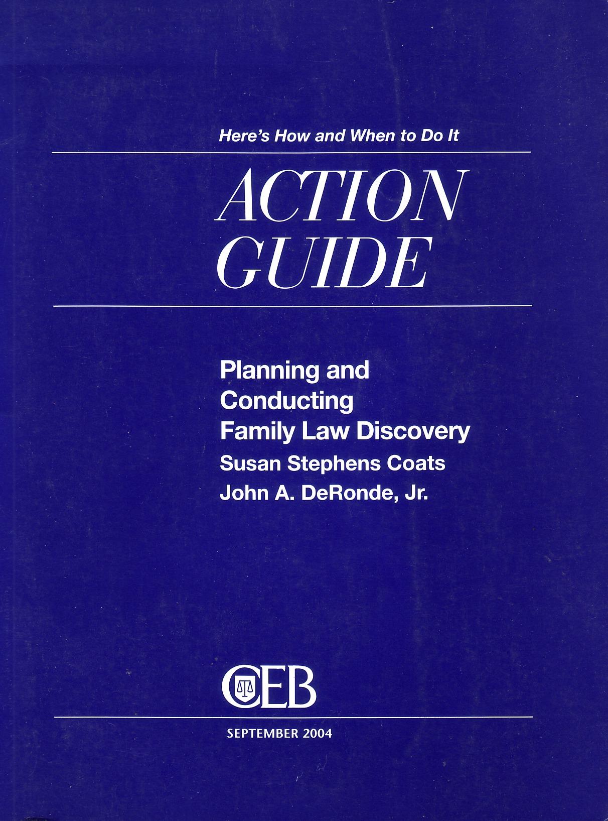 Planning and Conducting Family Law Discovery