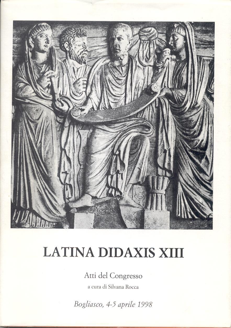 Latina didaxis XIII