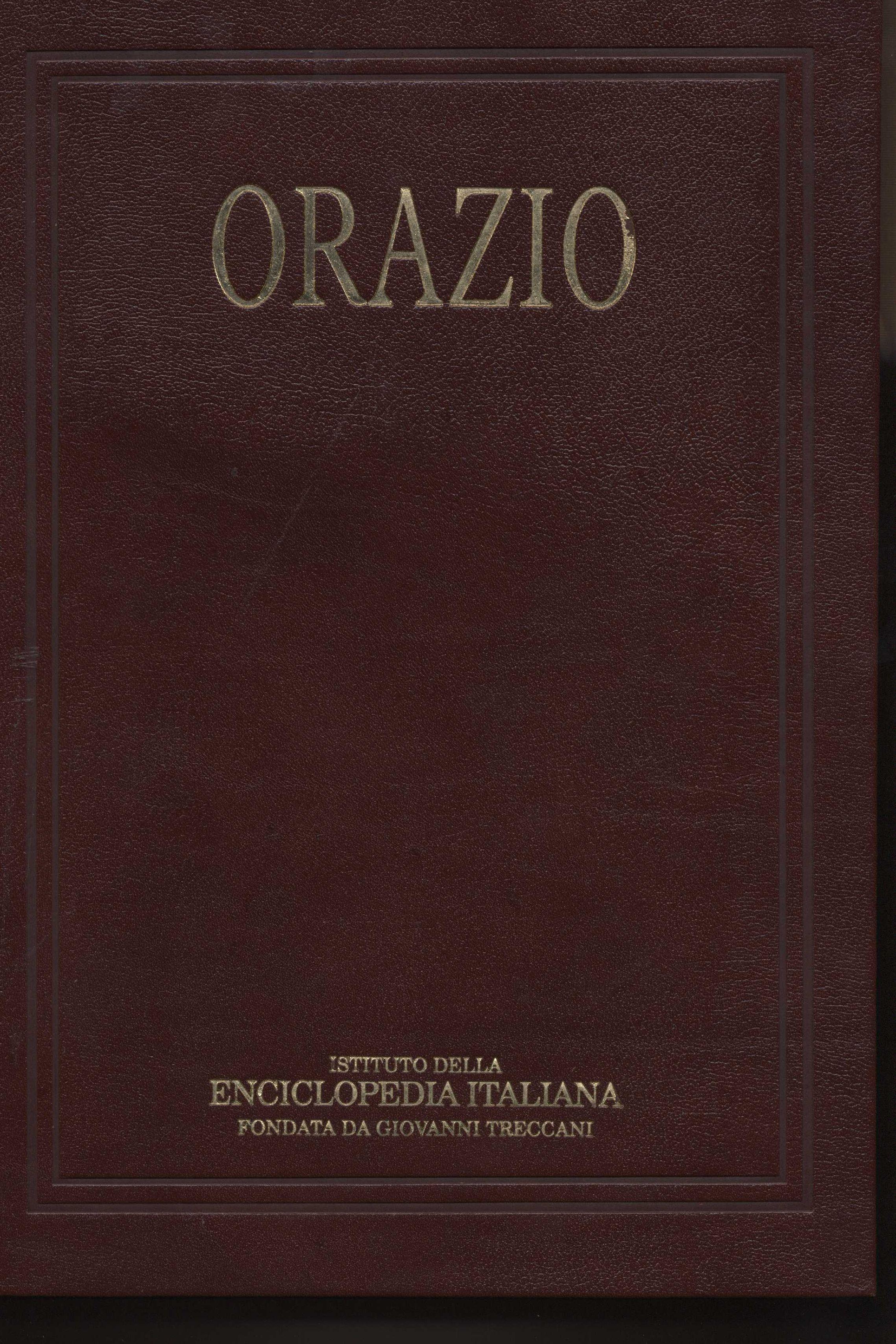 Orazio. Enciclopedia...