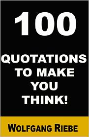 100 Quotations To Make You Think