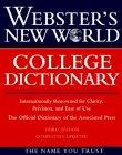 Webster's New World College Dictionary - Plain-Edged