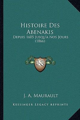 Histoire Des Abenakis